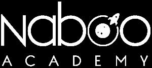 logo naboo academy bianco
